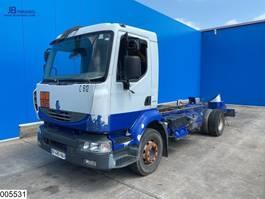 chassis cabine vrachtwagen Renault Midlum 210 Dxi EURO 5, Telma, ADR, new engine 2018 2011