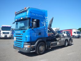 containersysteem vrachtwagen Scania R480 Euro-5 Kroghejs 2009