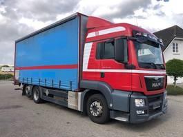 huifzeil vrachtwagen MAN TGS 26.440 Euro-6 2015