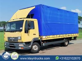 huifzeil vrachtwagen MAN L2000 8.180 bb manual steel 2002