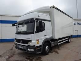 bakwagen vrachtwagen Mercedes-Benz Atego 1324 L - 4X2 - EURO 5 - SCHUIFZEIL LINKS 2010