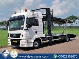 autotransporter vrachtwagen MAN 8.250 dubbel lader 2015