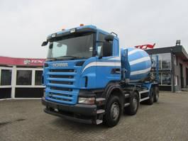 betonmixer vrachtwagen Scania R 420 8X4 10m3 LIEBHERR MIXER 2008