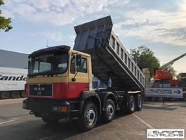 kipper vrachtwagen > 7.5 t MAN 41.403 Full steel - Big axles - Manual - 6 Cyl - Mech pump 1996