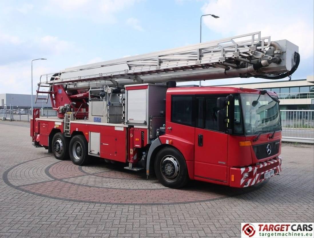 autohoogwerker vrachtwagen Mercedes-Benz Econic 2629 Magirus ALP325 Ladder Boom Work Lift 3300cm 2007