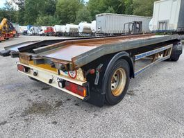 container chassis aanhanger Trax 2 ASSEN