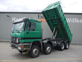 kipper vrachtwagen > 7.5 t Mercedes-Benz Actros 4146 3 Seitenkipper, AP Achsen, Klima, Blatt 1999