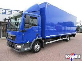 bakwagen vrachtwagen MAN TGL 12 Gesloten bak met klep Euro 6 2014