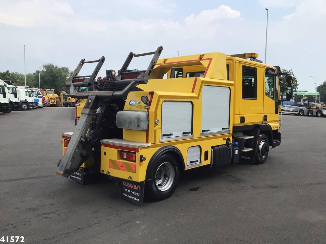 takelwagen-bergingswagen-vrachtwagen Iveco EuroCargo 80 80E19 Doka Falkom Abschlepp 2015
