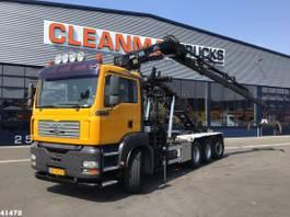 containersysteem vrachtwagen MAN TGA 35 Hiab 16 ton/meter laadkraan 2005