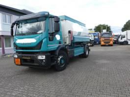 tankwagen vrachtwagen Iveco EuroCargo 180 180E32/P Tankwagen Willig Euro 6 TOP 2017