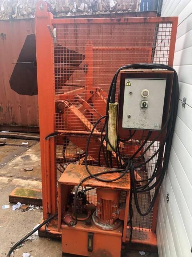 overig onderdeel Diversen garbage collector + tiltable + Bammes 1100L-1600L + Geesink + 240L Containers