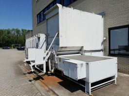 perscontainer Stationary Garbage Installation + Container 240L - 1100L + Press container 30 cub + fly door 2008