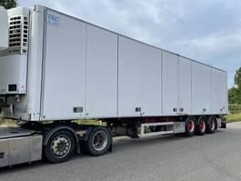 koel-vries oplegger Ekeri 3 asser / Side doors / SL400e thermoking / lift axle 2007