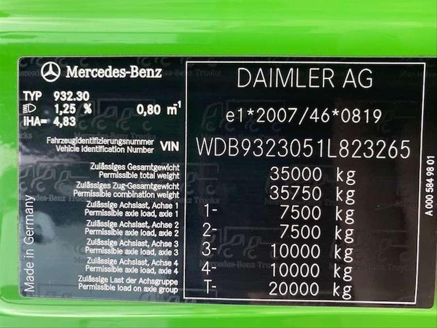 Mercedes-Benz - 8x4/ 3 -Seiten Kipper/DAUTEL/Euro 5 25