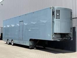 koel-vries oplegger DRACO Geerlings opbouw / Thermoking / Kachel verwarming / Zijdeur / Stuuras / Verkooptrailer / Bloementrailer / NL Trailer 2006