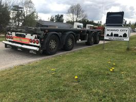 container chassis oplegger AMT 7,0 -7,5 mtr container m/3 vejs tip 2012