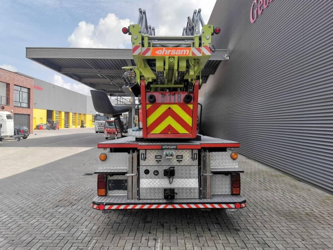 autohoogwerker vrachtwagen Mercedes-Benz 1226 AF 4x4 Drehleiter Ehrsam ADLK 110 27 Meter! 1984