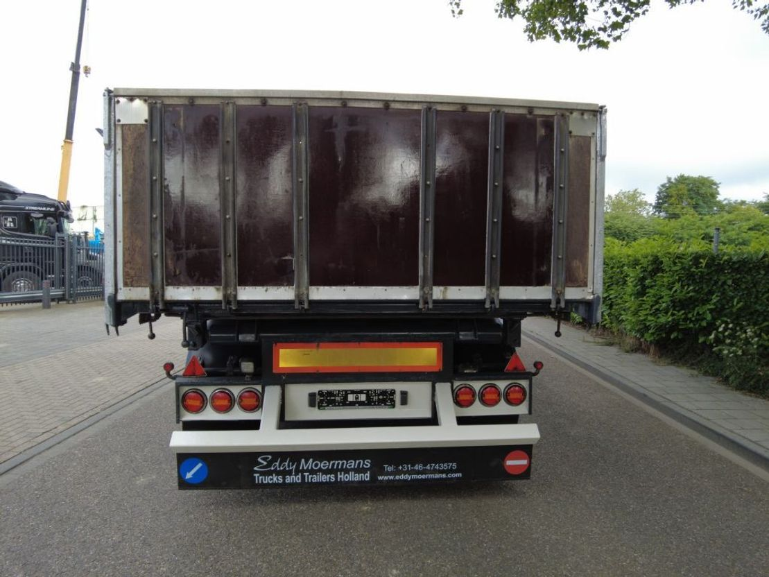 driezijdige kipper vrachtwagen aanhanger Dapa T24 3 Way Tipper 2008