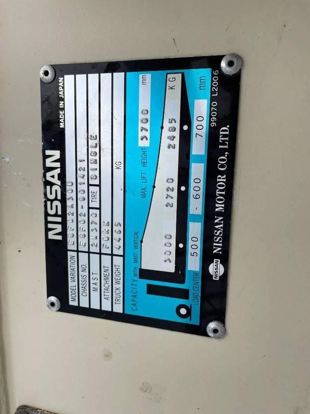 vorkheftruck Nissan 30