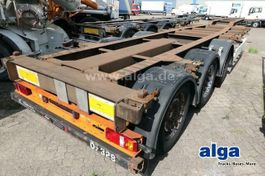 chassis oplegger Kögel SWCT 24, 20/30/40/45 Fuß Container, Luftfederung 2009
