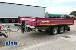 platte aanhanger vrachtwagen Müller-Mitteltal KA-TA-R 11.9, Tieflader, Verzinkt, Alu-Rampen 2014