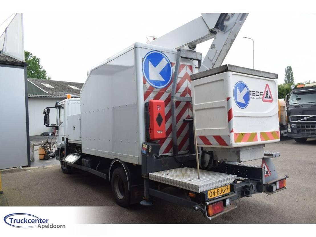 autohoogwerker vrachtwagen Iveco EuroCargo 120 120EL18 ESDA 18 Meter, Euro 5, Manuel, Truckcenter Apeldoorn. 2008