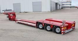 dieplader oplegger Rojo Trailer Low bed loader 3 axles. GRS3 (1X) PEMA Pendular 2020