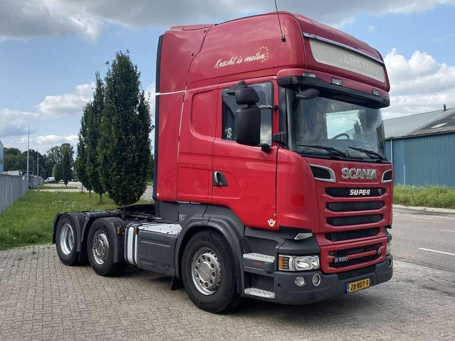 Scania - r580 v8 6x2 2