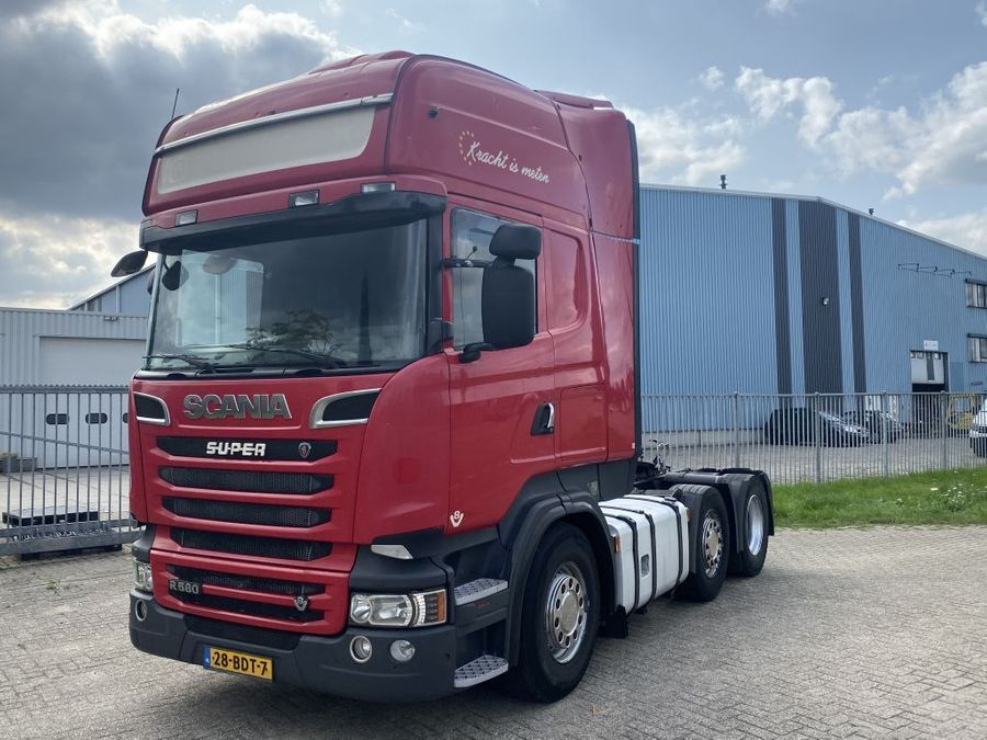 Scania - r580 v8 6x2 3