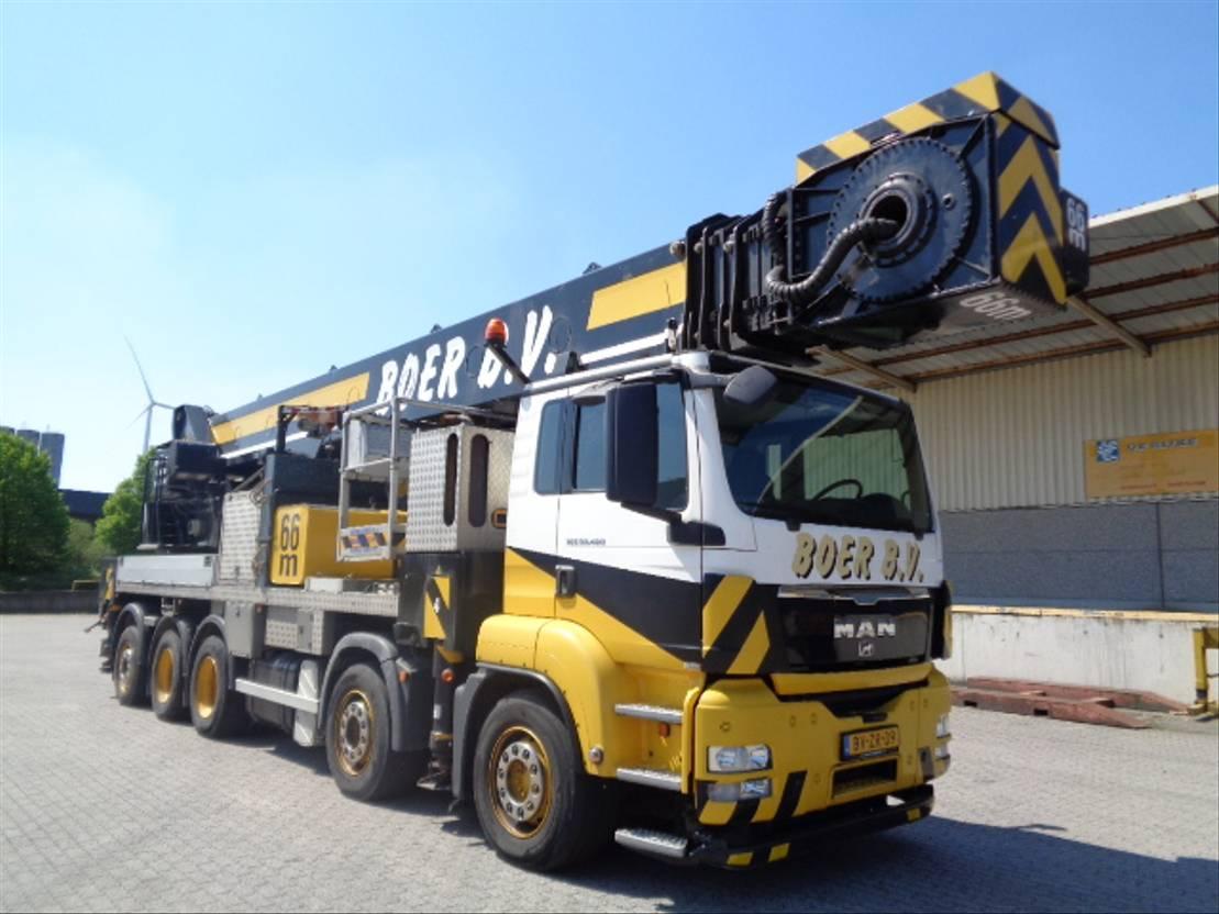 autohoogwerker vrachtwagen MAN 50-480 10X4 2009