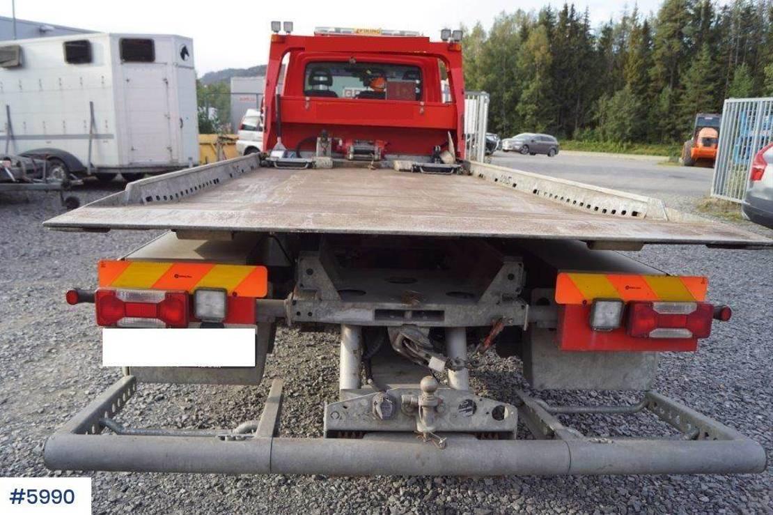 takelwagen-bergingswagen-vrachtwagen Iveco 70 bergingsbil WATCH VIDEO 2017