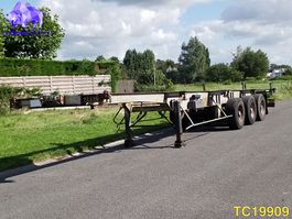 container chassis oplegger Trouillet Container Transport 1990