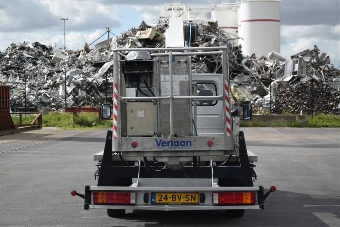 autohoogwerker vrachtwagen Mercedes-Benz Esda TL2150EG 2005