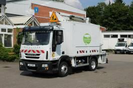 autohoogwerker vrachtwagen Iveco EuroCargo 120 120e 22/Comilev EN 170 TPC/16m/2P.Kor 2014
