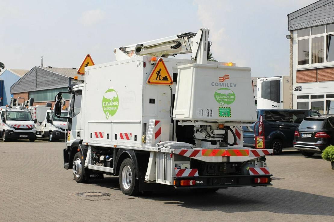 autohoogwerker vrachtwagen Iveco EuroCargo 120 120e 22/Comilev EN 170 TPC/16m/2P.Korb 2014