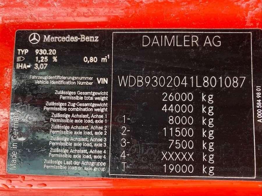 Mercedes-Benz - 6X2 Lenk + Liftachse / Euro 5 25