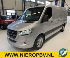 gesloten bestelwagen Mercedes-Benz Sprinter 319CDI L2H1 6 Cilinder full option Nieuw Airco Navi Automaat 2021