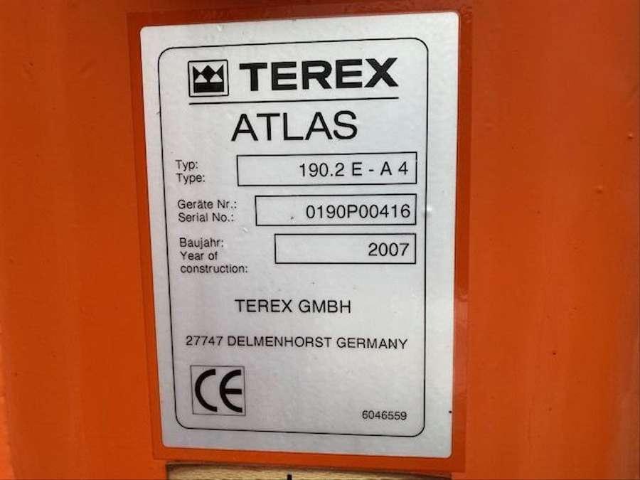 MAN - Atlas 190.2EA4 Kran*Funk /Klima 22