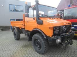 kipper vrachtwagen Unimog U1250 4x4  kipper 1994