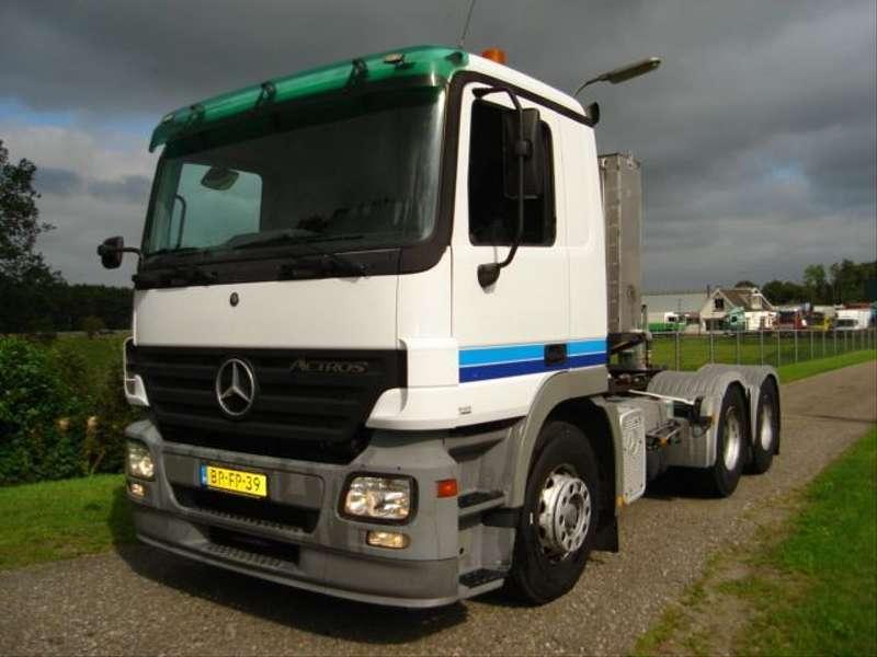 Mercedes-Benz - ACTROS 934.24/6X4/AGREGAAT 380 220 VOLT ACTROS 1