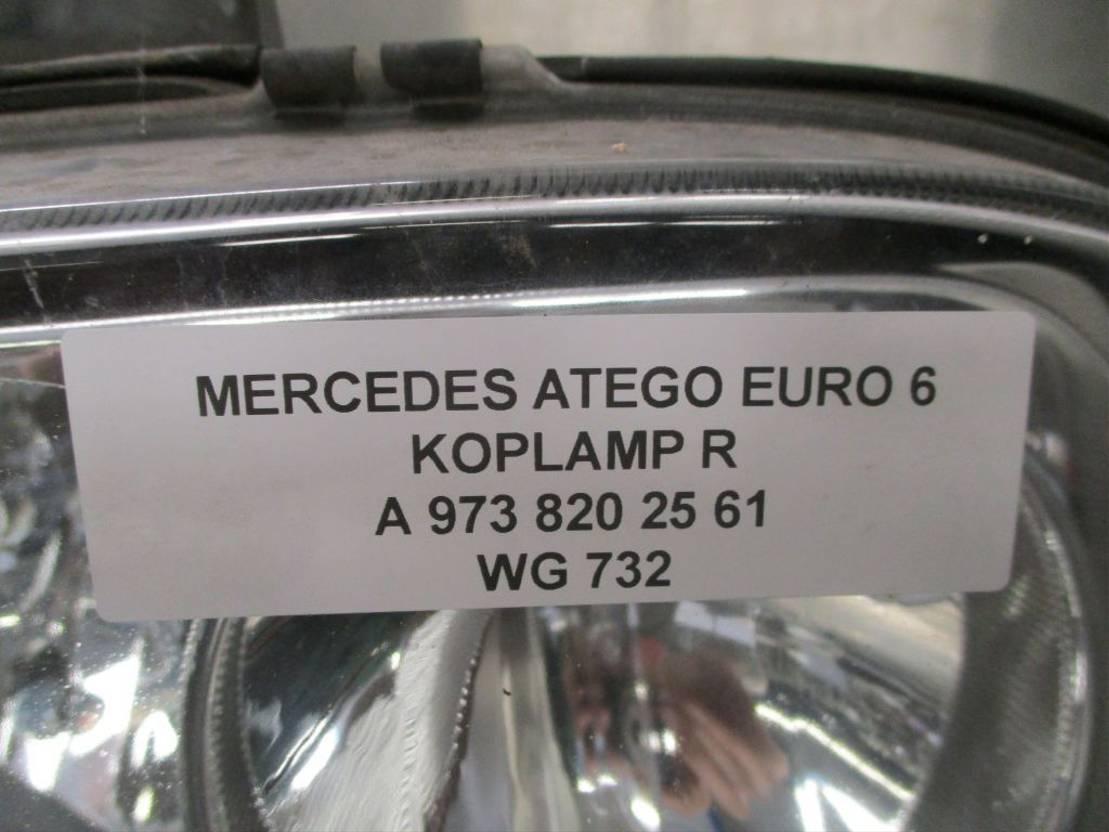 Koplamp vrachtwagen onderdeel Mercedes-Benz A 973 820 25 61 KOPLAMP RECHTS EURO 6