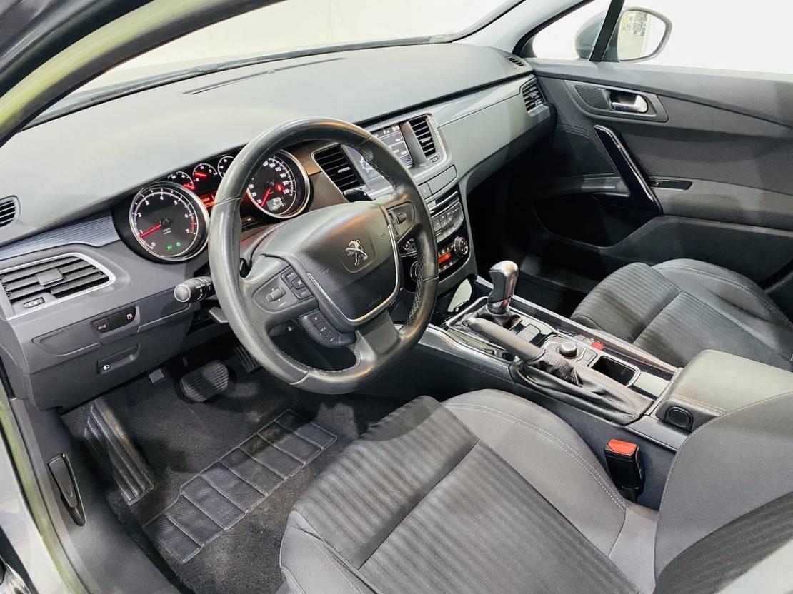 stationwagen Peugeot 1.6 Vti Automaat Navi Bleu Lease 2012