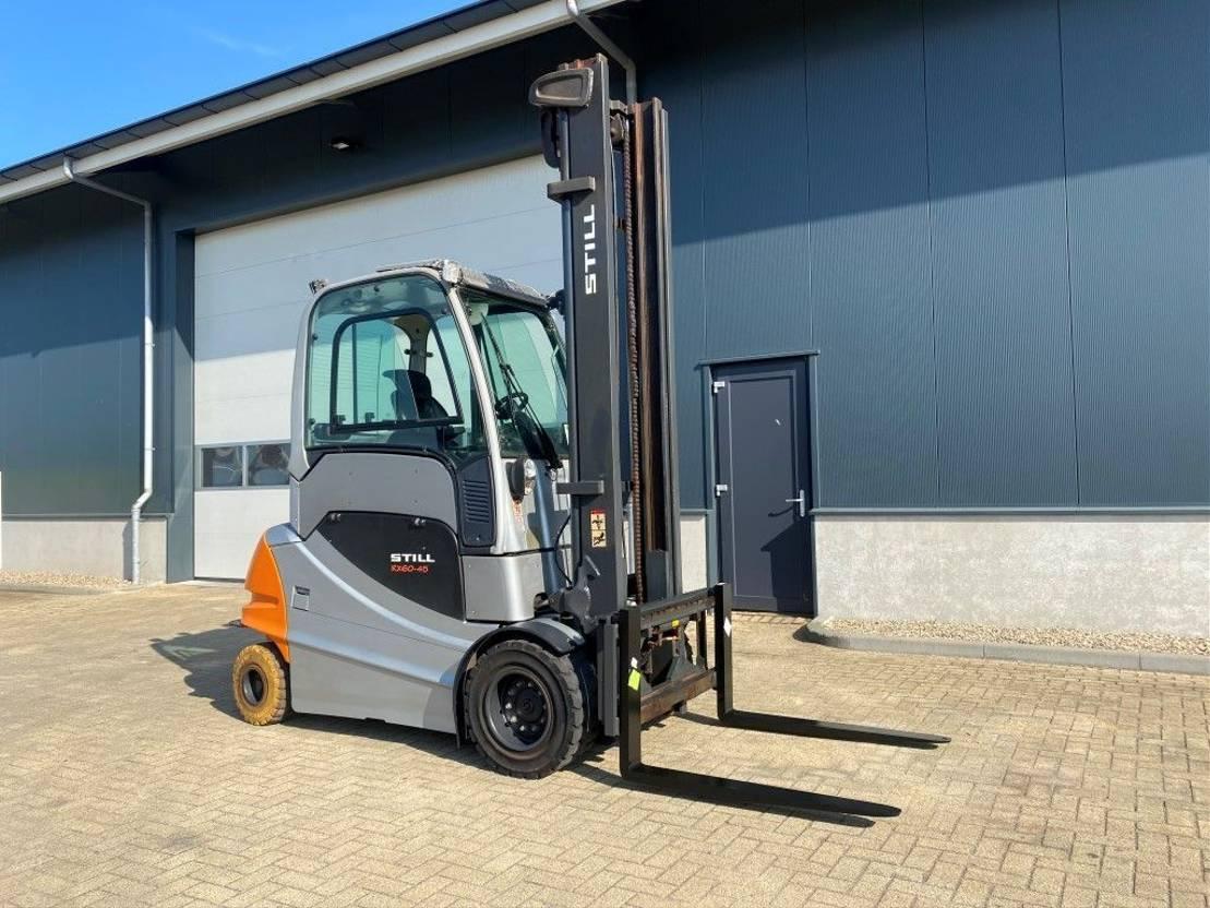 vorkheftruck Still RX 60-45 4.5 ton Duplo Sideshift Elektra Heftruck 2015