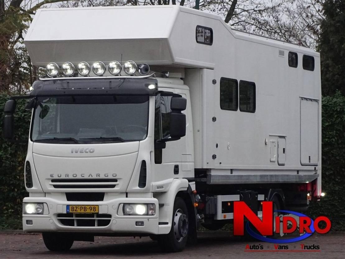 takelwagen-bergingswagen-vrachtwagen Iveco EUROCARGO AUT TOWTRUCK WINCH MOBIEL HOME 2008