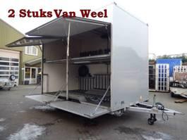 bakwagen aanhangwagen VAN Weel VW3500L 35-WD-TL & 10-WD-VV Tandemas Gesloten - Fietsen Aanhangwage... 2009