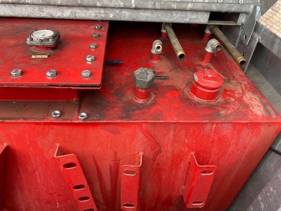 IBC-intermediate bulk container Tolsma 3000 Liter gegalvaniseerde IBC KIWA dieseltank 2010