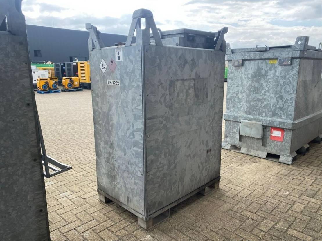 IBC-intermediate bulk container Diversen 1300 Liter IBC Multicontainer dieseltank gegalvaniseerd 2003