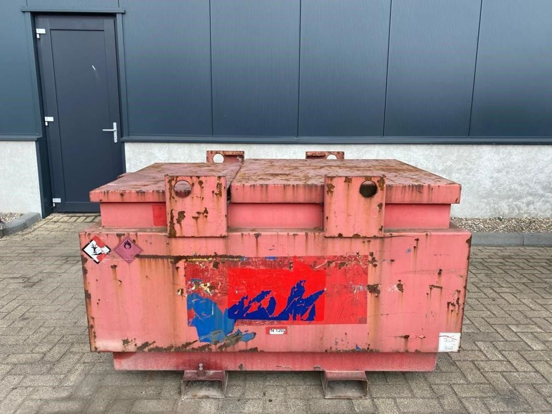 IBC-intermediate bulk container Diversen 1000 liter Kiwa IBC dieseltank met keuring 2008