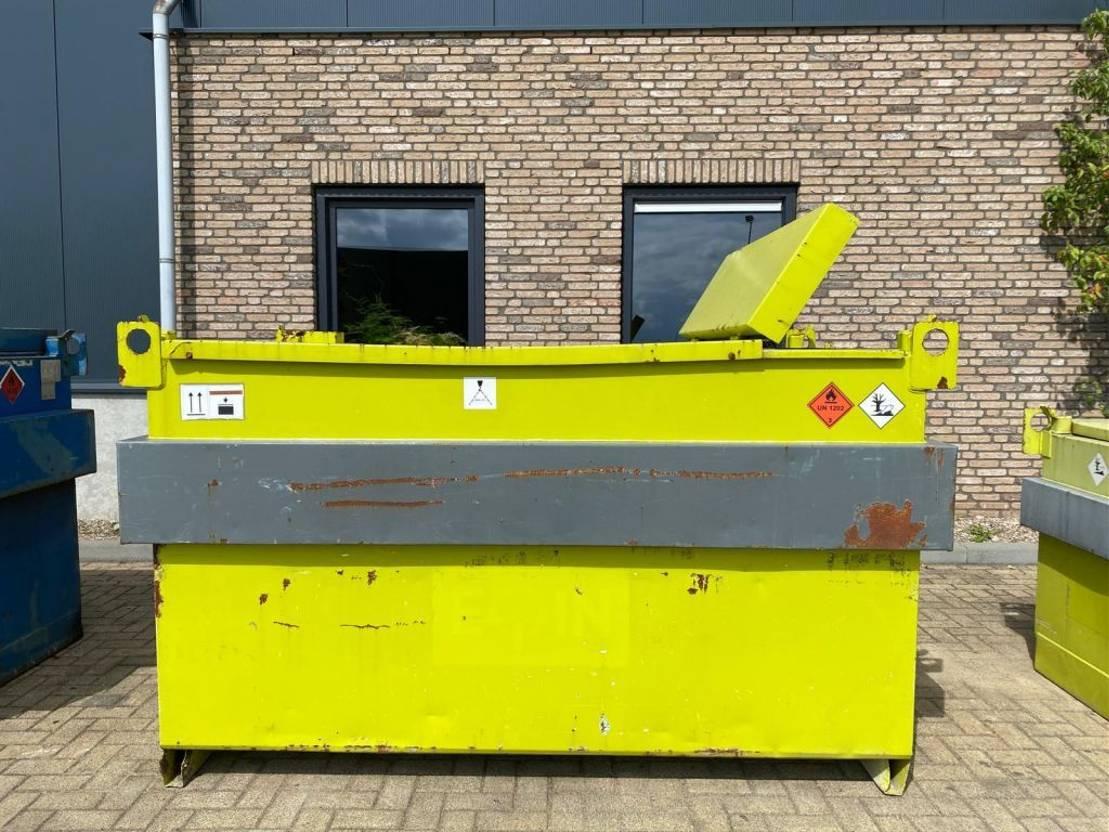 IBC-intermediate bulk container Diversen 3000 liter Kiwa IBC dieseltank met handpomp met keuring 2003